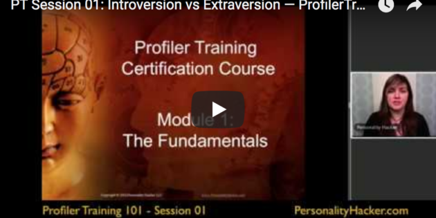 [VIDEO]  Introversion vs Extraversion — Profiler Training Sample